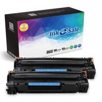 INK E-SALE 2 Pack New Compatible Toner Cartridge Replacement for HP 85A CE285A CB435A CB436A Canon 125 for use in HP LaserJet P1102w P1109w M1212NF M1217nfw P1505 M1522nf P1006 Canon LBP6000 MF3010