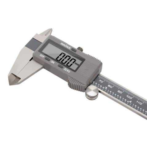 150mm Fraction MM Inch Stainless Steel Portable Digital Display Vernier Caliper