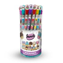 Scentco - Birthday Smencils Cylinder - HB #2 Scented Smelly Fun Pencils / 50 Count/Gifts for Kids