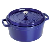 STAUB Round Cocotte, 2.75 quart, Dark Blue