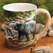 Shadow of Forest Black Bear Mug