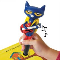 Educational Insights Hot Dots Jr. Pete The Cat Pen, Interactive Learning, Compatible with All Hot Dots Sets