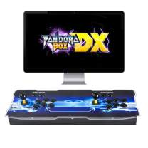 3A Pandora Box DX Arcade Game Console - 3000 Games Installed, Support 3D Games, Search/Save/Hide/Pause Games, 1280x720P, Add More Games, High Score Record, Favorite List, 3-4 Players Online Game