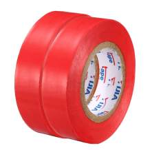 "uxcell Insulating Tape,PVC Electrical Tape, Single Sided, 21/32"" Width, 49ft Long, 6 mil Thick, Red, 2pcs"