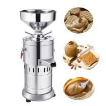 110V Peanut Butter Maker Machine 3000g Commercial Electric Grain Grinder Peanut Butter Maker Sesame Sauce Grinder Sesame Butter Miniature Household Milling Machine 15kg/h 1100W - LEONEBEBE (110V)