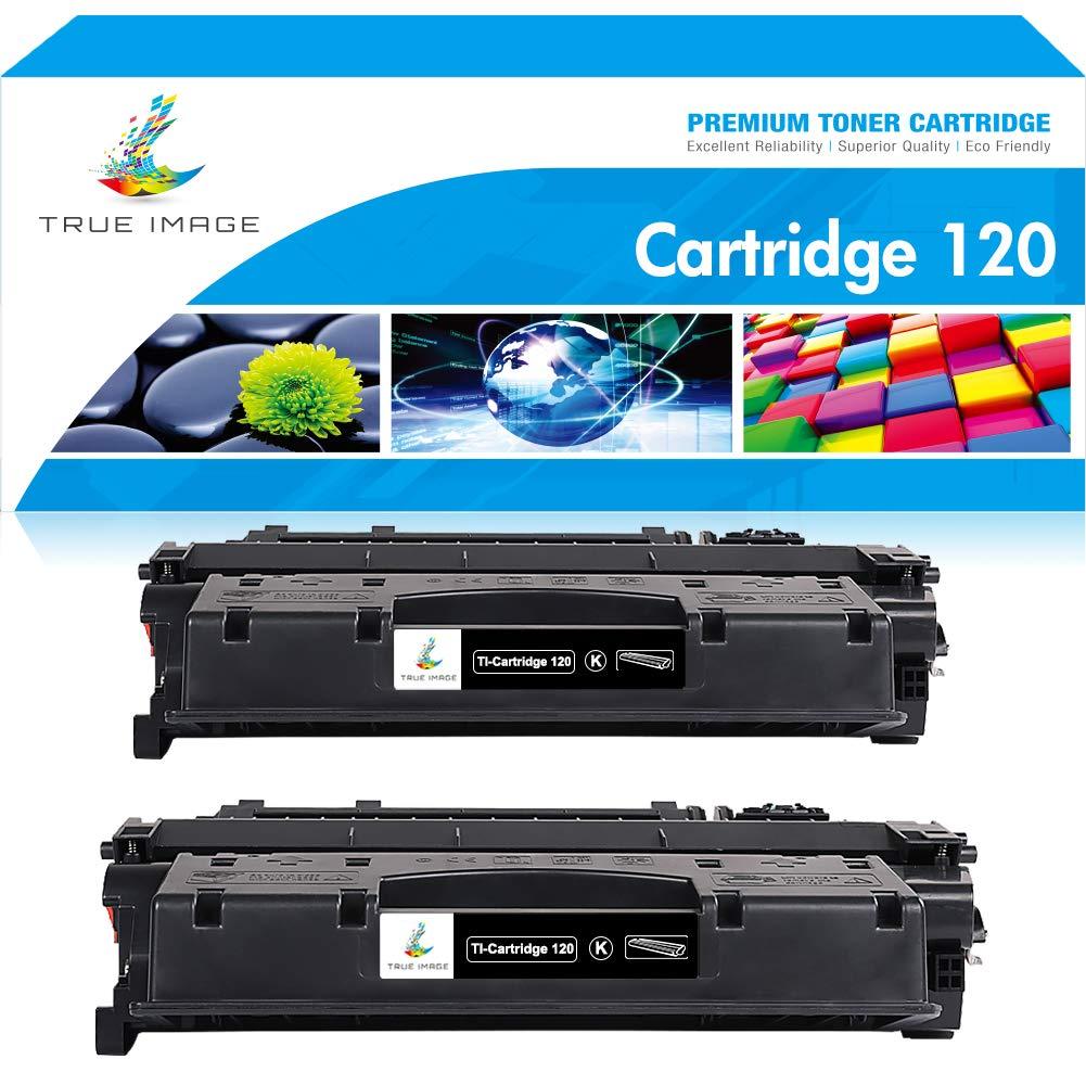 True Image Compatible Toner Cartridge Replacement for CRG120 Canon 120 Imageclass D1550 D1320 D1350 D1150 D1100 D1120 D1170 D1180 Printer Ink (Black, 2-Pack)