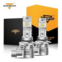 Auxbeam 9006 HB4 Led Headlight Bulbs F-M3 Series 50W 5000lm 6500K ZES LED Chip Single Beam Headlight Conversion kit