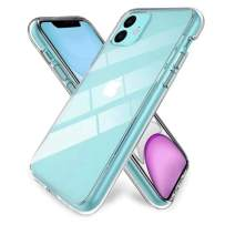 K Y KANGYUN Crystal Clear iPhone 11 Case, Flexible Silicone TPU Thin Cover Slim Gel Phone Cover Case for iPhone 11 6.1 inch (2019),Clear