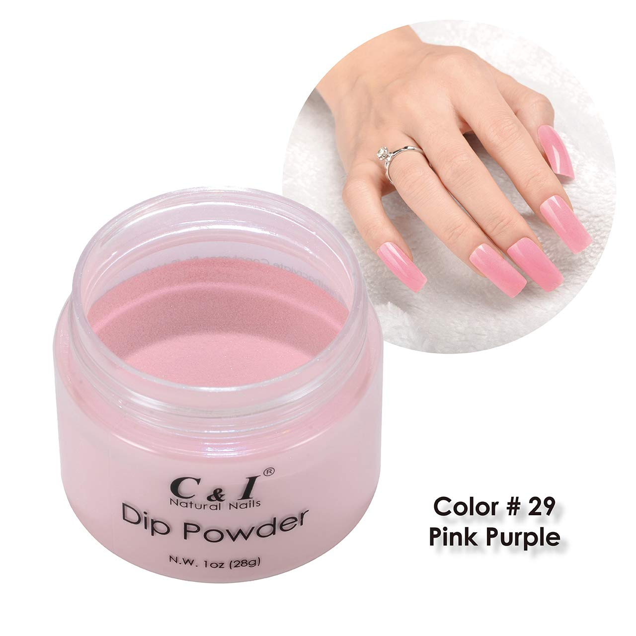 C & I Dipping Powder Color No.029 Pink-purple Purple Color System