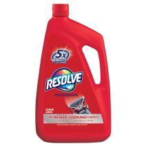 Resolve Professional Steam Carpet Cleaner Solution Shampoo, 96oz, 2X Concentrate, Safe for Bissell, Hoover & Rug Doctor