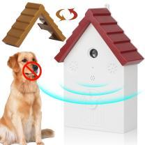 ROFTEK ultrasonic Dog bark and Anti-bark Control Device, Anti-bark Anti-bark Device, Anti-bark Device, Rechargeable ultrasonic Dog Pen, Outdoor Electronic pet Training Product