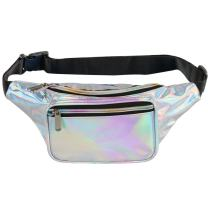 Fotociti Holographic Fanny Pack– Fashion Rave Waist Bag with Adjustable Belt for Women and Men