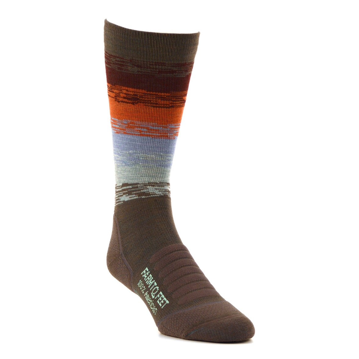 Farm to Feet Women's Ocracoke Sunrise Lighweight Hiking Crew Socks