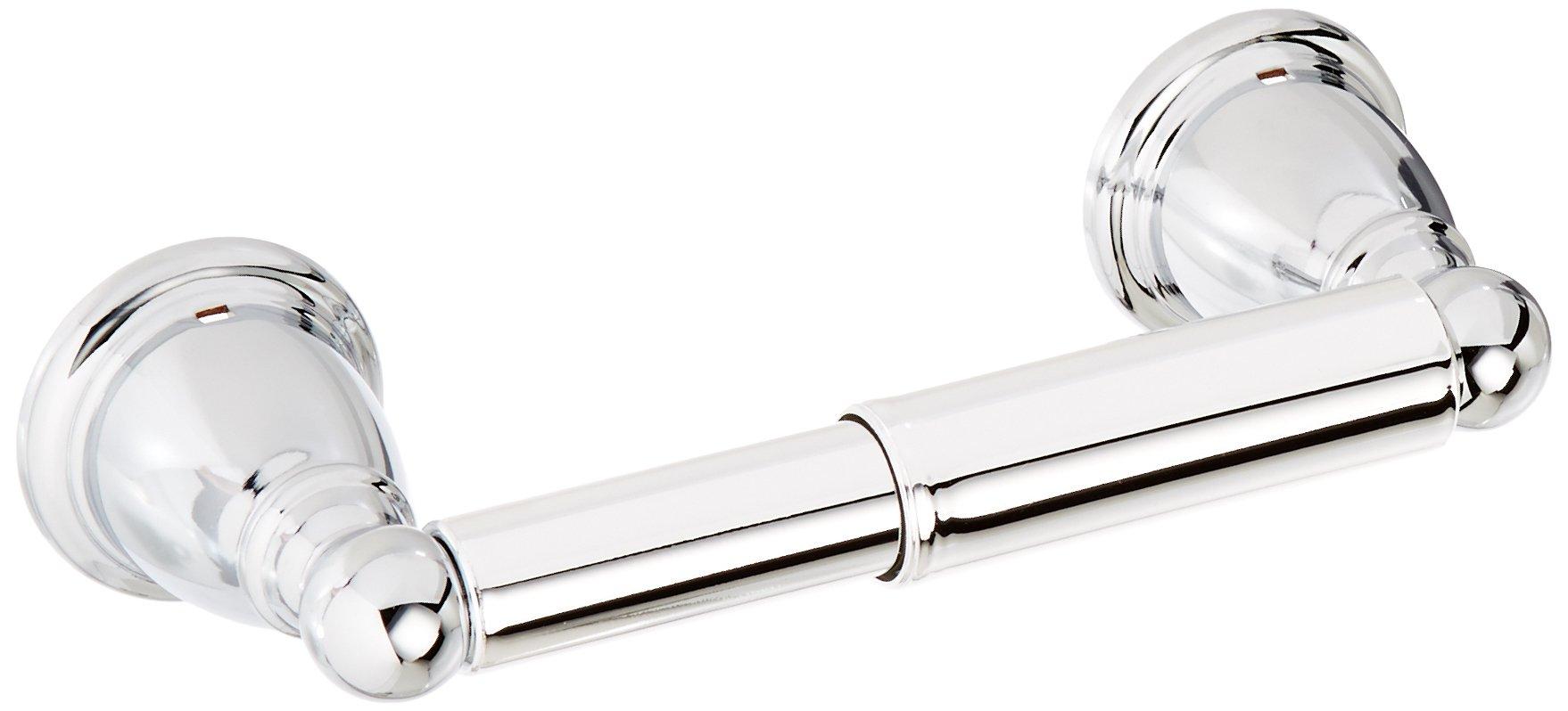 Moen YB2208CH Brantford Double Post Spring-Loaded Toilet Paper Holder, Chrome
