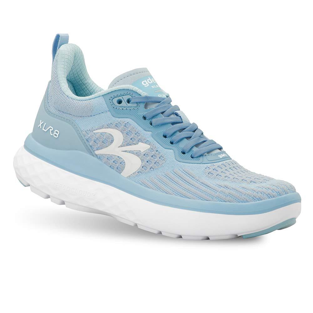 Gravity Defyer Women's G-Defy XLR8 Run - VersoCloud Multi-Density Shock Absorbing Performance Long Distance Running Shoes