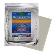 Gator Patch Fiberglass Reinforced Repair Patch - Repairs Holes, Dents & Cracks on Multiple Surfaces - DIY Prep, Peel & Stick - 3 Sizes - USA Made