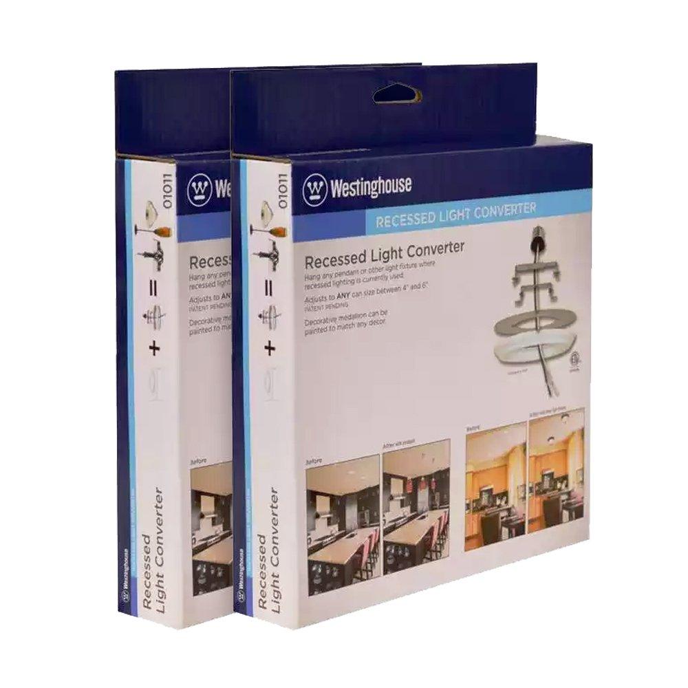 Westinghouse 0101100 Recessed Lighting Converter