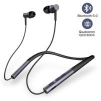 Wireless Bluetooth Earbuds, CloudFox Bluetooth 5.0 Headphones with15 Hours Playtime, One-Step Pairing, Touch Control, Wireless Earbuds Stereo Sounds, Built-in Mic