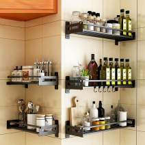 micoe Kitchen Spice Rack Shelves Stainless Steel Rack Shelf Kitchen Supplies Seasoning Rack Storage Sauce Rack,JB03A-40