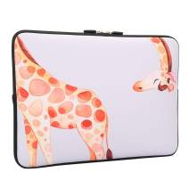 Lapac Funny Giraffe Laptop Sleeve Bag 13-13.3 Inch, Water Repellent Neoprene Light Weight Notebook Computer Skin Bag, Notebook Carrying Case Cover Bags for 13-13.3 inch MacBook Pro, MacBook Air
