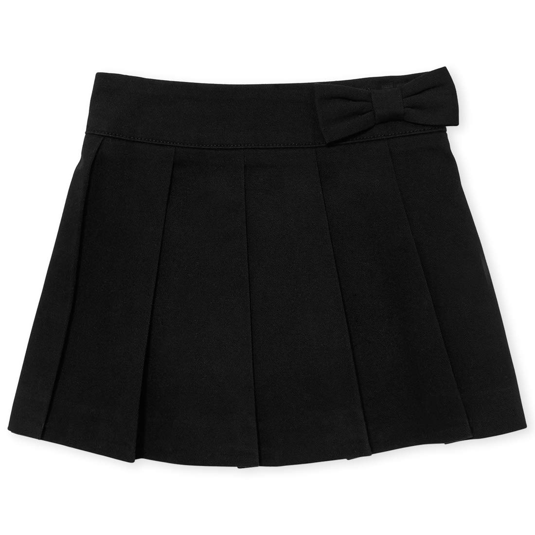 The Children's Place Baby Girls Solid Uniform Pleated Woven Pull on Skort