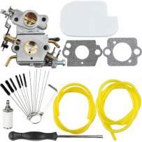 Dalom 545070601 C1M-W26C Carburetor + Carb Cleaning kit + Adjusting Tool + Air Filter for Poulan P3314 P3416 P3816 P4018 PP3416 PP3516 PP3816 PP4018 PP4218 PPB3416 PPB4018 PPB4218 Power Gas Chainsaw
