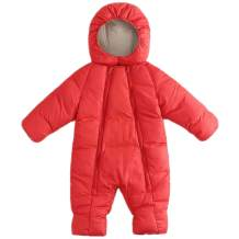 Ohrwurm Baby Winter Thick One Piece Snowsuit with Hood Zipped Toddler Padded Sleepsuit