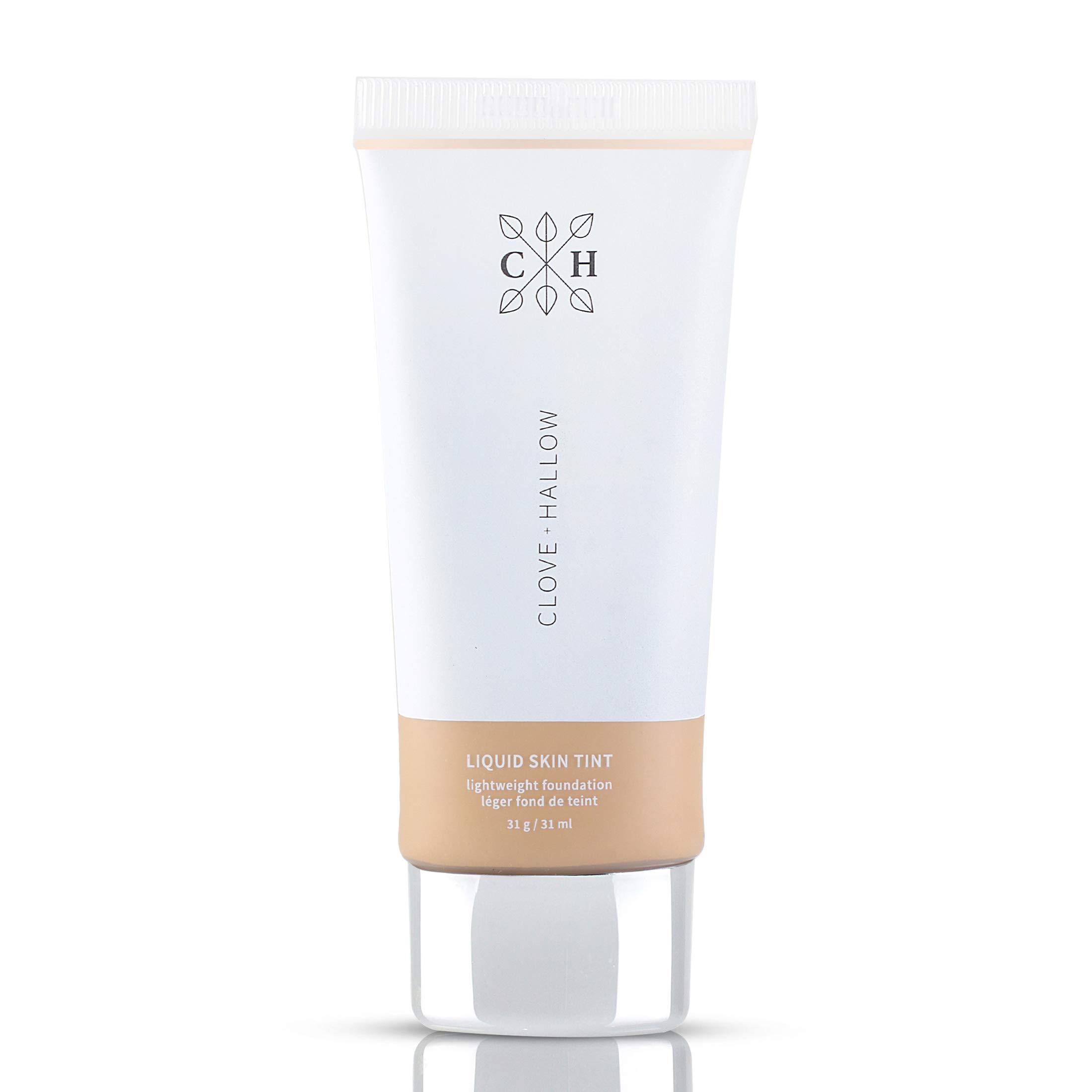 CLOVE + HALLOW Liquid Skin Tint Liquid Foundation Organic Makeup-05