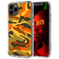 MOSNOVO iPhone 11 Pro Max Case, Camouflage Pattern Printed Clear Design Transparent Plastic Hard Back Case with TPU Bumper Protective Case Cover for iPhone 11 Pro Max