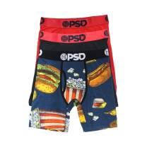 PSD Underwear Men's Wide Band Boxer Brief Underwear - Modal Cotton, 3-Pack