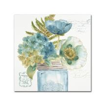 My Greenhouse Bouquet III by Lisa Audit, 14x14-Inch Canvas Wall Art