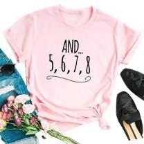 Honeymoon Shirt Women Honeymoonin T-Shirts Funny Letter Print Casual Short Sleeve Tees Shirt