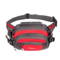 ENGYEN Fanny Pack Waist Bag for Women Men, running packs gear with Phone Water Bottle holder Adjustable belt, for Travel Workout Hiking, carrying iPhone money