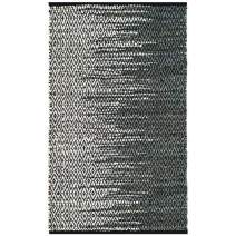 "Safavieh Vintage Leather Collection VTL388B Light Grey and Charcoal Area Rug, 2'3"" x 4'"