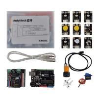 DFROBOT Gravity: Starter Kit for Ardublock - a Graphic Programming Kit for Arduino