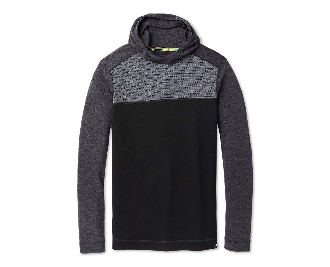Smartwool Men's Color Block Hoodie - Men's Merino 250 Wool Hooded Sweatshirt