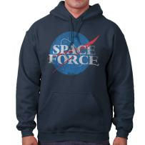 Space Force USSF Donald Trump US Military Hoodie