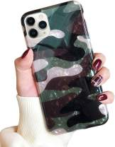 J.west Case for iPhone 11 Pro Max, Luxury Sparkle Bling Crystal Clear Soft TPU Silicone Back Cover for Girls Women for Apple iPhone 11 Pro Max 6.5 inch Camouflage