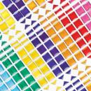 Baker Ross Mosaic Stick On Stones, for Card Craft, Scrapbook Stickers and Arts and Crafts for Kids (Pack of 375)
