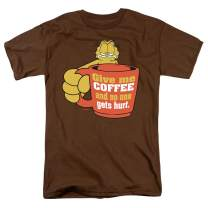 Garfield Give Me Coffee T Shirt & Stickers