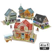 CubicFun 3D Britain Puzzles Architectural Cityscapes Building Model Kits, 171 Pieces, W3186h