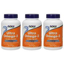 Now Foods Ultra Omega 3, Fish Oil Soft-gels, 540 Count