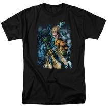Popfunk Aquaman Justice League T Shirt & Stickers