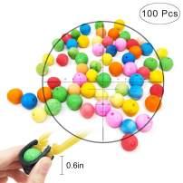 TOPRADE Multiple Color Paper Pellets Balls Bobbles Slingshot Ammo Safe Ammo for Children Enjoy Family Time
