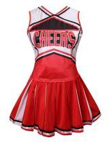 Colorful House Womens Cheerleader Costume Uniform Fancy Dress