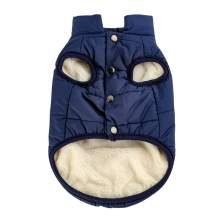 Companet Pet Dogs Clothing, Winter Warm Coats Jackets Small Medium Large Dogs Cotton-Padded Two Feet Clothes
