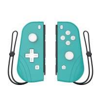 Wireless Joy-con Controller for Nintendo Switch,Proslife L/R Joycon with Wrist Strap,Wireless Switch Remotes Alternatives for Nintendo Switch Controllers-Cyan