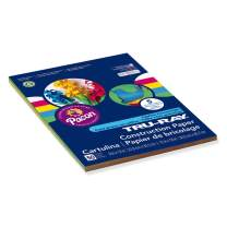 """Pacon Tru-Ray Assorted Primary Colors Primary Construction Paper, 9"""" W x 12"""" L (Pack of 50)"""