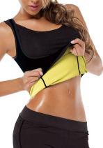 Womens Hot Sweat Body Shaper Tank Top Tummy Fat Burner Slimming Sauna Vest No Zip