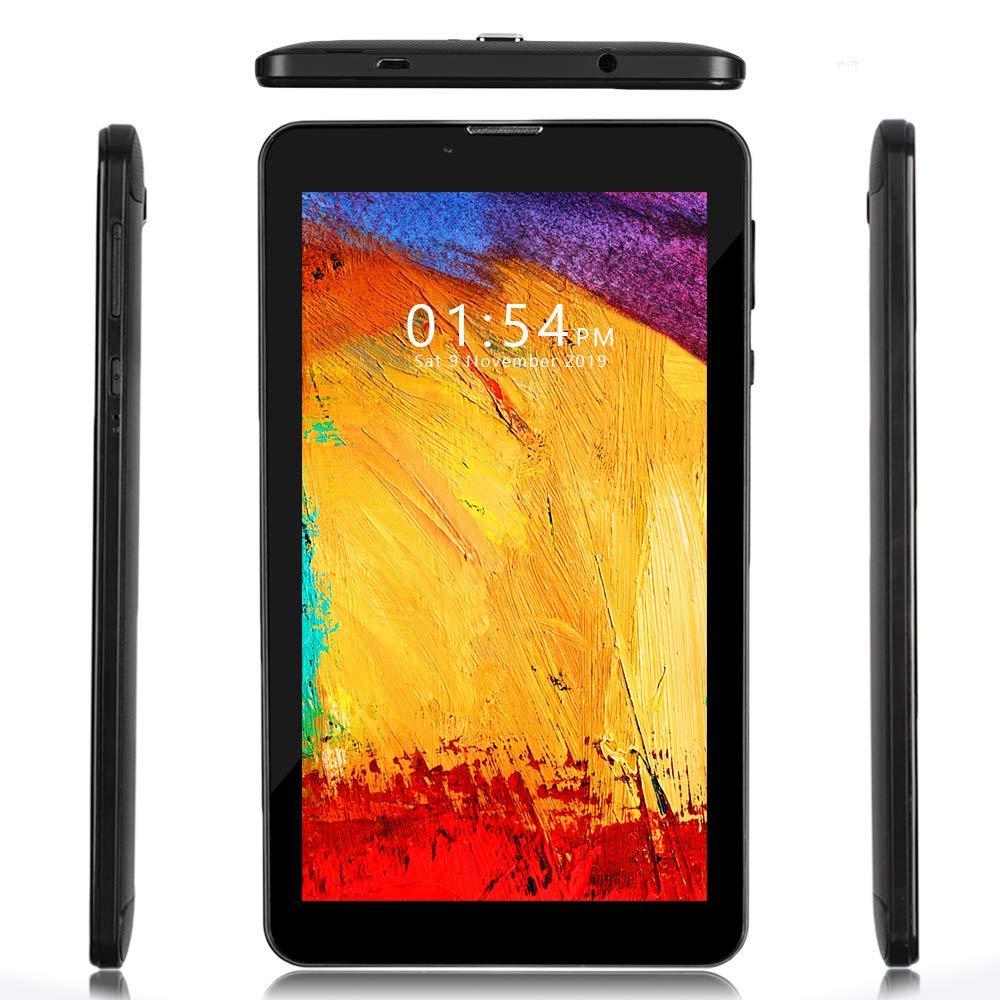 Indigi GSM Unlocked Official Android 4G LTE 7-inch TabletPC & 2SIM Phone [QUADCORE 2GB RAM/16GB Storage] (Black)